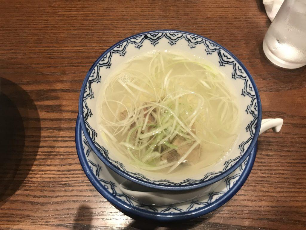 喜助のテールスープ