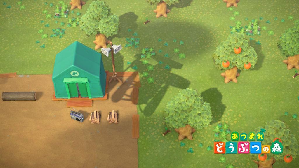 あつまれどうぶつの森 無人島生活のイメージ映像