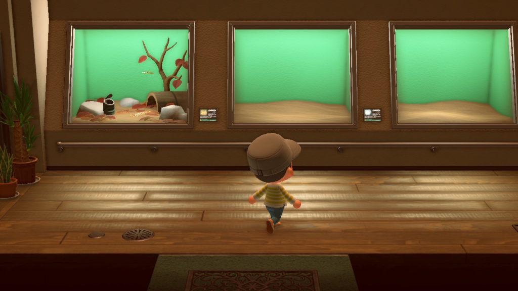 あつまれどうぶつの森 博物館 虫の展示室