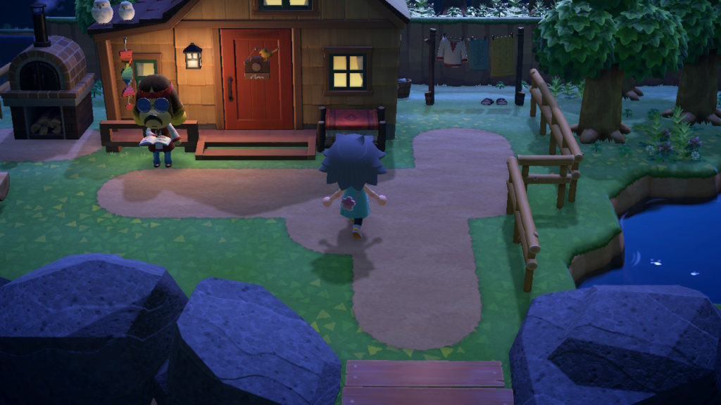 あつまれどうぶつの森 パニーの島 パニーの家