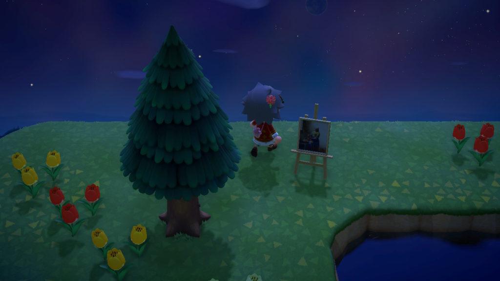 あつまれどうぶつの森 落ち着いた名画